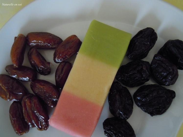 ingrédients fruits déguisés