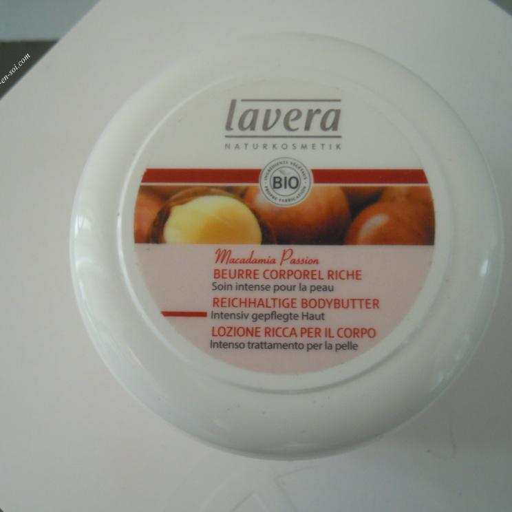 Beurre corporel Lavera