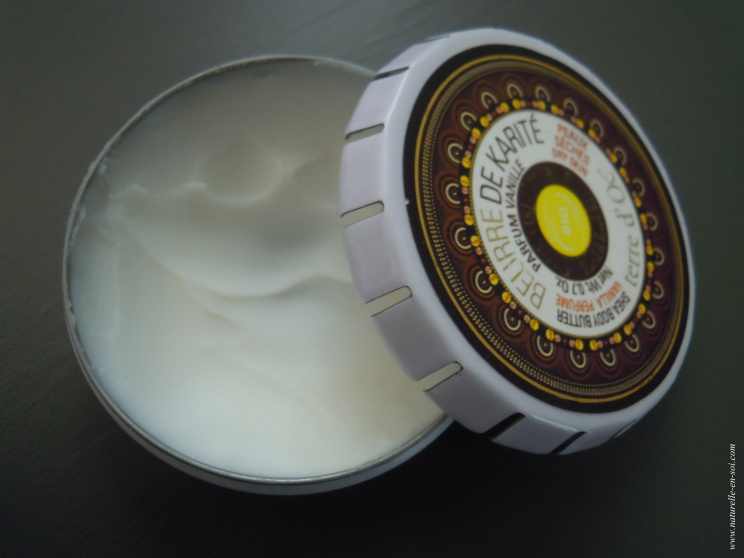 Texture beurre de karité
