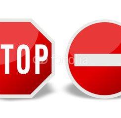 stop interdit