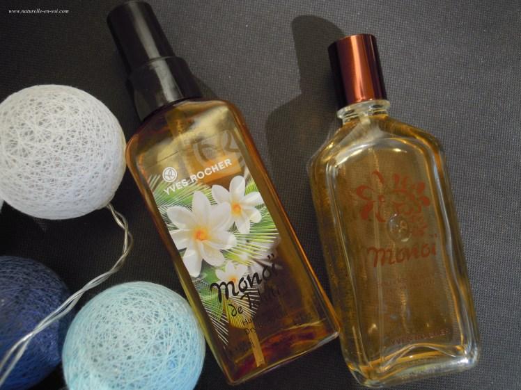 Huile sèche et parfum Yves Rocher