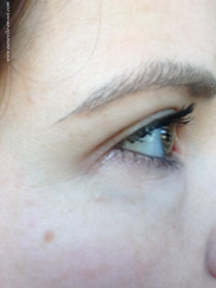 oeil droit mascara Lavera