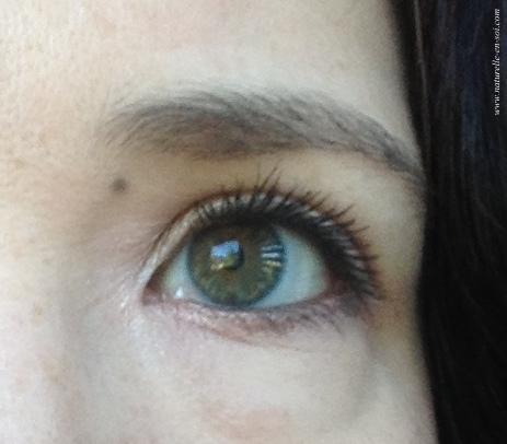 oeil gauche mascara Lavera