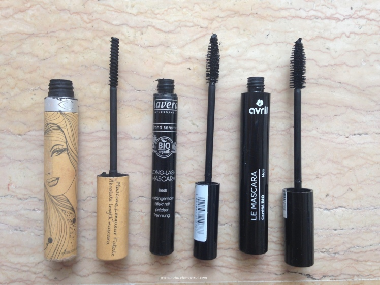 vue d'ensemble test mascaras