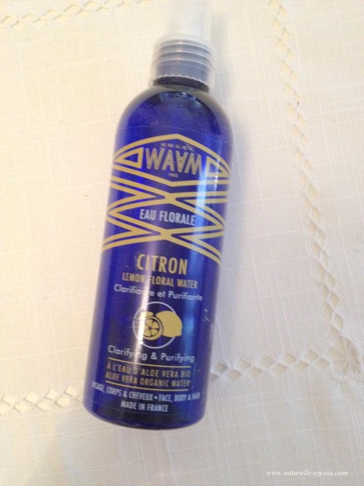 eau florale de citron Waam