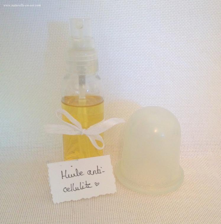 huile anti-cellulite