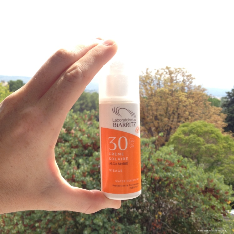 crème solaire Laboratoires de Biarritz