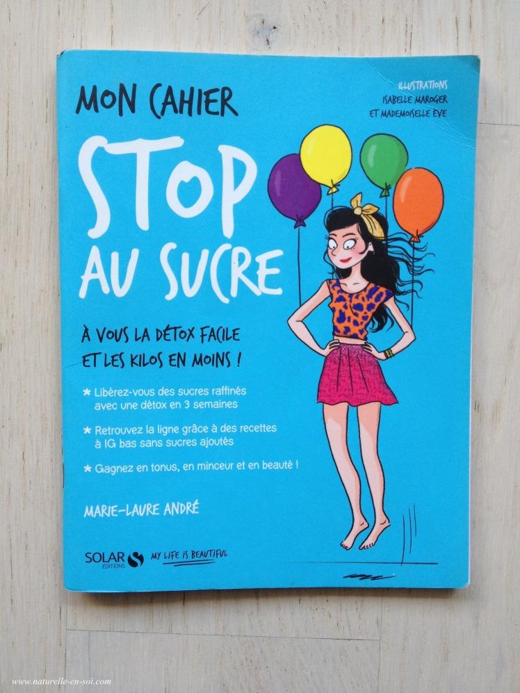 cahier Stop au sucre