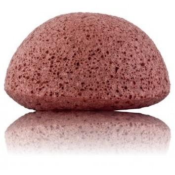 éponge konjak argile rouge Onatera