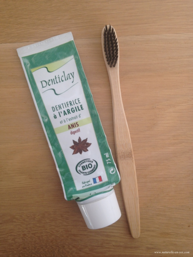 Dentifrice Denticlay Anis