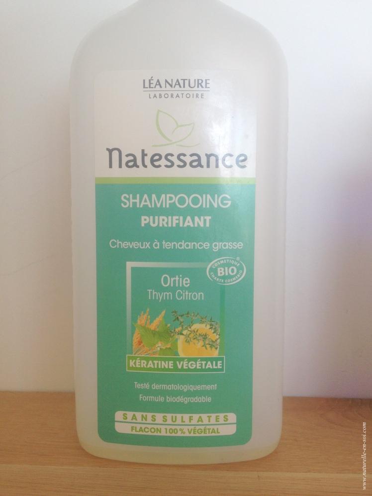 shampoing purifiant Natessance
